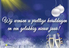 Van Breda wenst u fijne feestdagen en een gezond 2020!